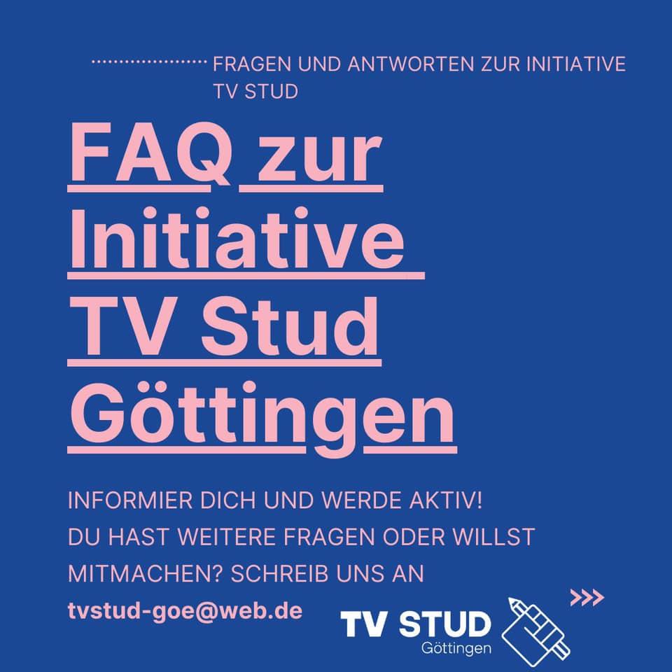 FAQ: WTF is TV Stud Göttingen?