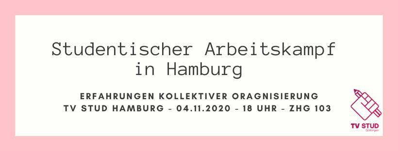 Online-Veranstaltung: Studentischer Arbeitskampf in Hamburg