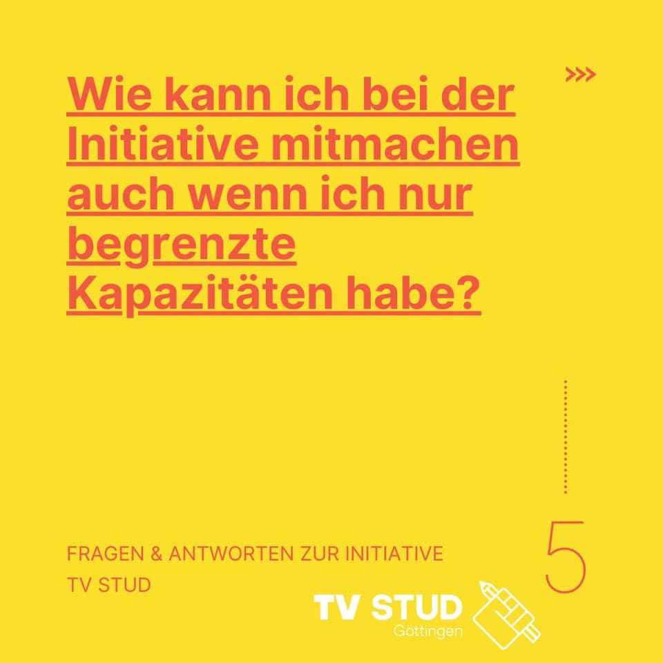 FAQ#5: Wie kann ich bei der Initiative mitmachen?